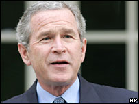 US President George Bush
