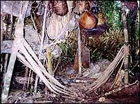 �rea abandonada por ind�genas