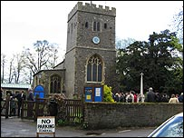 St Mary the Virgin church in Denham, Bucks
