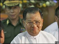Burmese leader Than Shwe