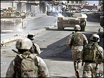 US troops in Mosul