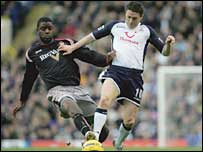 Robbie Keane (right) missed a penalty but finished on the winning side