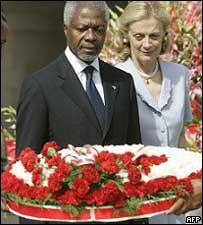 Kofi Annan in India