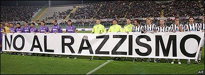 Campa�a contra el racismo en Italia.