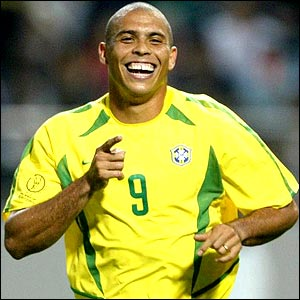 Brazilian striker Ronaldo will be taking part in his fourth World Cup finals