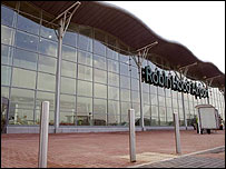 Terminal at Robin Hood Airport