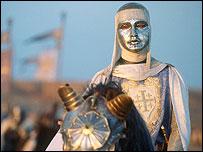 King Baldwin IV, played by Edward Norton