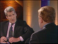 Jeremy Paxman and Charles Kennedy