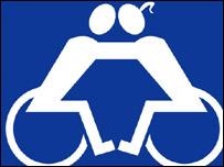 Imagen de discapacitados diseñada por Simon Mansfield
