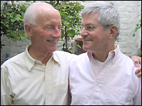 Roger Lockyer and Percy Steven, 39 years together