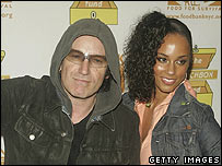 Bono and Alicia Keys