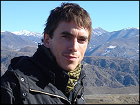 Simon Reeve entering Nagorno Karabakh