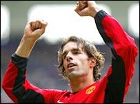 Manchester United striker Ruud van Nistelrooy