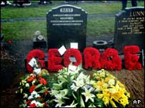 George Best's grave