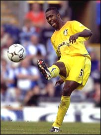 Leeds and South Africa's Lucas Radebe