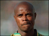 South Africa's Phil Masinga