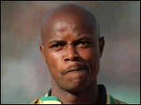 South Africa's Phil Masinga