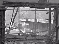 Valley Parade after the fire