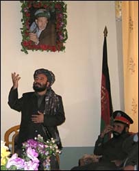 Helmand governor Sher Mohammed Akhunzada