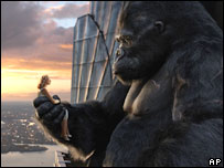 Naomi Watts in still from King Kong