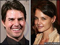 Tom Cruise y Katie Holmes