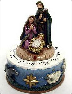 Nativity kitchen timer