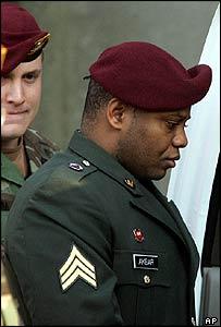 Sergeant Hasan Akbar during his court martial