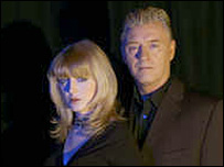 Yvette Fielding and Derek Acorah