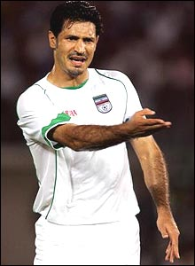 Iran targetman Ali Daei has over 100 goals for his country, but has yet to notch in a game at the World Cup finals