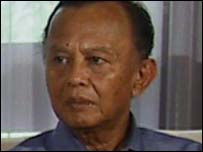 Indonesian Environment Minister Rachmat Witoelar