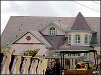 Bayelsa State Governor Diepreye Alamieyeseigha's official residence in Yenagoa