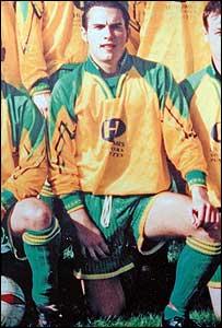 Matthew Hughes in team photo