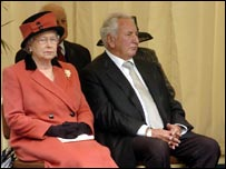 Michael Winner and the Queen