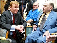 Charles Kennedy meets elderly people on Friday