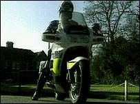 Essex police motorcyclist