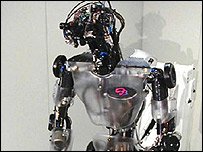 The usual image of what a robot looks like