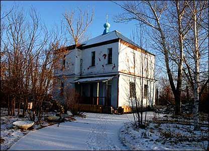 Lavrenty Beria's dacha in Kurchatov
