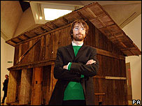 Shedboatshed and its creator Simon Starling