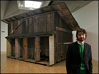 Simon Starling with Shedboatshed