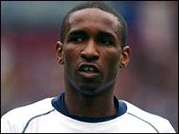 Jermain Defoe in action for Spurs