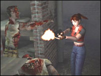 Screengrab from Resident Evil, Capcom