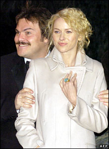 Jack Black and Naomi Watts