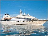 Seabourn Spirit cruise liner
