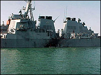 Destroyer USS Cole