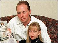 Stuart Shields and his wife, Tania