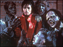 Michael Jackson in original Thriller video