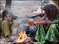 Young survivors of the Pakistan earthquake