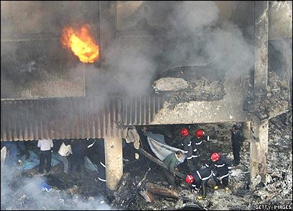 Rescuers at scene