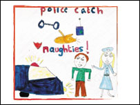 North Wales Police Christmas card