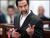Former Iraqi leader in court